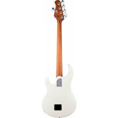 Music Man Stingray special ivory white 5 cordes - Vue 2
