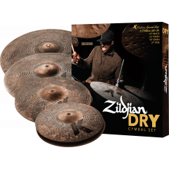 "Zildjian Pack K Custom Dry 14""-16""-18""-21"" - Vue 2"