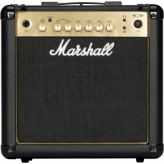 Marshall MG15R Gold - Vue 2