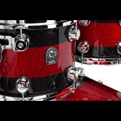 """Natal Café Racer US Fusion 22"""" black & red stripe sparkle - Vue 2"""