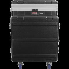 Gator GRC-12X10-PU rack polyéthylène 12U top/10U côté + roulettes - Vue 2