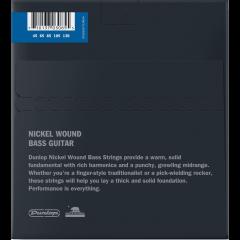 Dunlop DBN45130 filé rond nickel medium 5 cordes - Vue 2