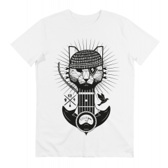 Algam Webstore T-Shirt Algam Chat Homme (L) - Vue 2