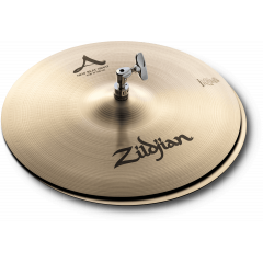 "Zildjian A 15"" New Beat hi-hat - Vue 1"