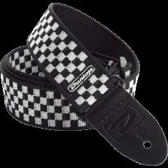 Dunlop Sangle standard Echiquier Noir & Blanc - Vue 1