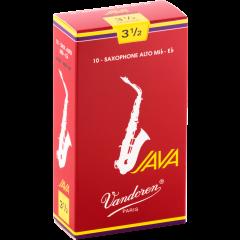 Vandoren Anches saxophone alto Java Red force 3,5 - Vue 1