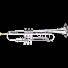 Getzen Trompette Sib étudiant plaquée argent 590S-S - Vue 1