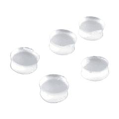 Pearl Flute Bouchons de clés en silicone (6 pcs) - Vue 1