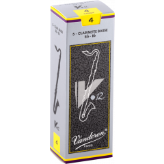 Vandoren Anches clarinette basse V12 force 4 - Vue 1