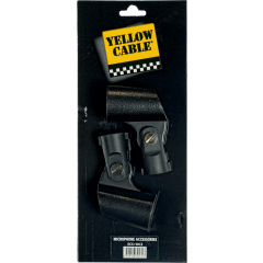 Yellow Cable Collier adaptateur pour pince micro diamètre 28 mm- lot de 2 - Vue 1