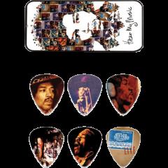 Dunlop Jimi Hendrix Hear my Music medium boîte de 6 - Vue 1