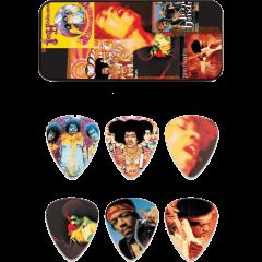 Dunlop Jimi Hendrix Montage heavy boîte de 6 - Vue 1