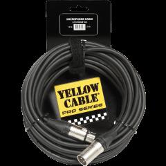 Yellow Cable Cordon xlr xlr 10 m neutrik - Vue 1