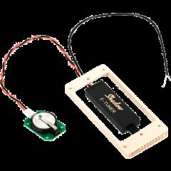 Shadow Accordeur contour micro pour guitare table bombée - créme - Vue 1