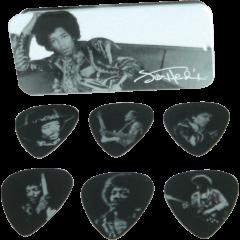 Dunlop Jimi Hendrix Silver Portrait heavy boîte de 12 - Vue 1