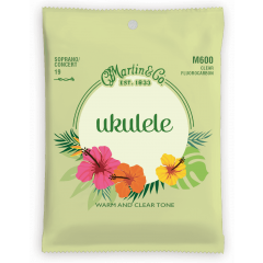C.f. Martin M600 Ukulélé Soprano/Concert fluorocarbone - Vue 1