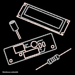 Shure Cable en Nappe pour afficheur ULX4P - Vue 1