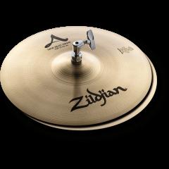 "Zildjian A 13"" New Beat hi-hat - Vue 1"