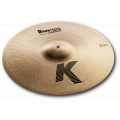 "Zildjian K 18"" dark crash thin - Vue 1"
