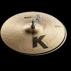 """Zildjian K 14"""" hi-hat - Vue 1"""