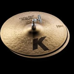 "Zildjian K Custom 14"" dark hi-hat - Vue 1"