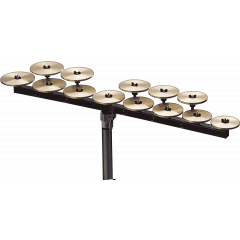 Zildjian Crotale high octave 13 notes 440 Hz - Vue 1