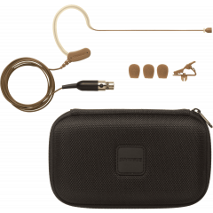 Shure Micro tour d'oreille sans fil marron MX153C-O-TQG - Vue 1