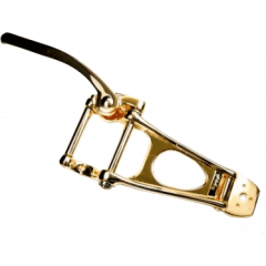 Bigsby Vibrato B11 pour arched top, finition gold - Vue 1