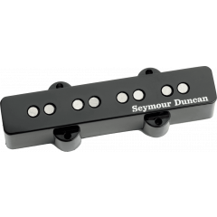 Seymour Duncan SJB-2B Hot Jazz Bass chevalet noir - Vue 1