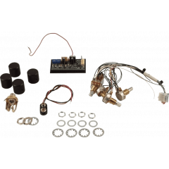 Seymour Duncan STC-3M4 Préampli 3 bandes actif + 4 potards - Vue 1