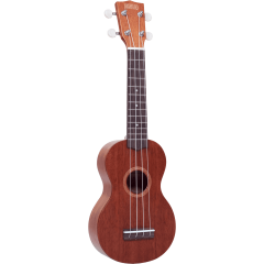 Mahalo Java soprano transparent brown + housse - Vue 1