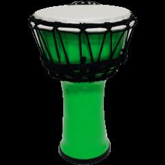 "Tanga PVC 7"" vert fluo - Vue 1"