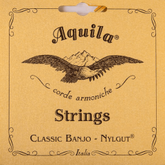 Aquila 5B New Nylgut Banjo 5 cordes Medium DBGDG - Vue 1