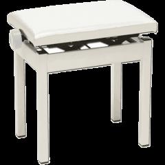 Korg Banquette de piano blanche réglable - Vue 1