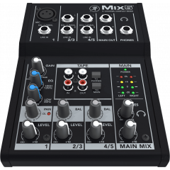 Mackie MIX5 Mixeur compact 5 canaux, 8 entrées - Vue 1