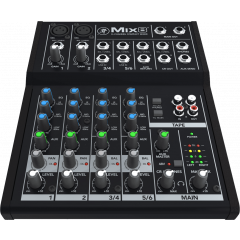 Mackie MIX8 Mixeur compact 8 canaux, 10 entrées - Vue 1