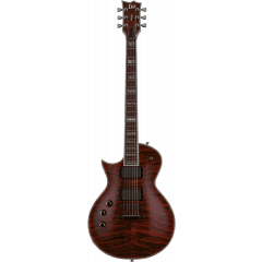Ltd EC-1000LH see thru black cherry gaucher - Vue 1