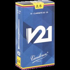 Vandoren Anches clarinette Sib V21 force 2,5 - Vue 1