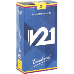 Vandoren Anches clarinette Sib V21 force 3 - Vue 1
