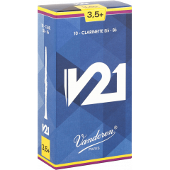 Vandoren Anches clarinette Sib V21 force 3,5+ - Vue 1
