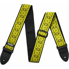 Dunlop Sangle Jacquard Fillmore Yellow - Vue 1