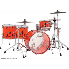 "Pearl Crystal beat Rock 22"" ruby red - Vue 1"