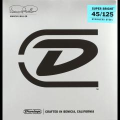 Dunlop DBMMS45125 Marcus Miller medium 5 cordes - Vue 1