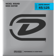 Dunlop DBSBN45125 super bright medium 5 cordes - Vue 1