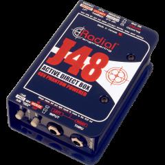 Radial DI active J48 - Vue 1