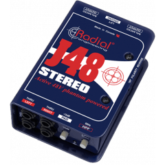 Radial DI active stéréo J48 Stereo - Vue 1