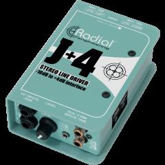 Radial DI convertisseur stéréo -10/+4 dB J+4 - Vue 1