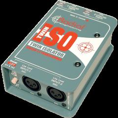 Radial Isolateur de ligne +4 dB stéréo Twin Iso - Vue 1