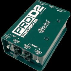 Radial DI passive stéréo PRO-D2 - Vue 1