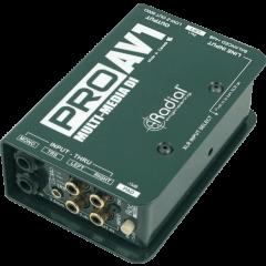 Radial DI passive multimédia PRO-AV1 - Vue 1